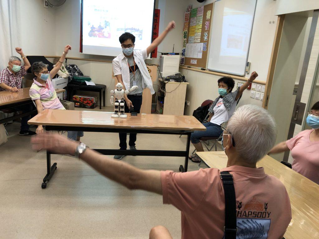 Hi-Touch機械人及數碼健康管理計劃-數碼健康管理小組